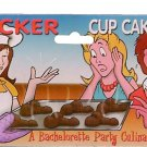 Bachelorette Party Favor~ 6 CupCake Pan Chocolate Molds