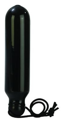 "5.5"" Black Starter Standard Probe Butt Dildo Anal Plug"