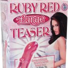 Large Red Anal Butt Teaser ~ Great Strap-On Penis Vibe