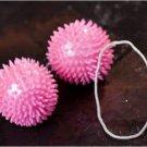 Pink Pleasure Kegal Ben Wa Balls w/ Nubs