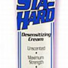 STA-HARD Male Penis Cock Desensitizing Cream~Benzocaine