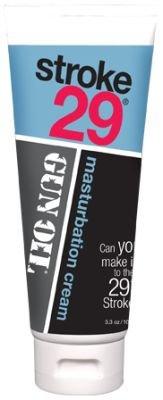 Stroke 29 Male Masturbation Cream Lube Gel Heat 3.3oz