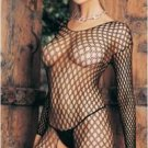 Ringo Hole Fishnet Sleeves Crotch-less Body Stocking