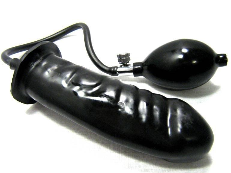pump up anal plug