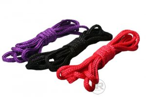 Black~Japanese Shibari Silk Bondage Restraint Rope 16ft