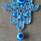 New dreamcatcher Ornament Hamsa blue evil eye weaving  free shipping