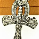 Adorable Magic Stainless steel PaganEgypt ANKH Cross Pendant Necklace