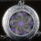 Awesome Sacred Mandala Open Locket Chain Necklace