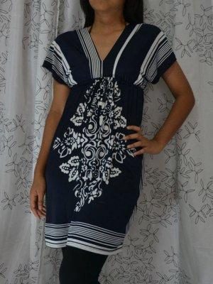 554 V-Neckline Polyester Kimono Kaftan Caftan Cover-up Tunic Dress Top