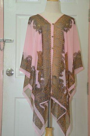 2004 Scarf Kaftan Caftan Kimono Sleeves Tunic Beach Cover-ups swim suit Top