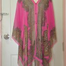 2005 Scarf Kaftan Caftan Kimono Sleeves Tunic Beach Cover-ups swim suit Top