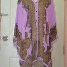 2007 Scarf Kaftan Caftan Kimono Sleeves Tunic Beach Cover-ups swim suit Top