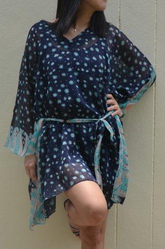 4016 Caftan Kaftan Kimono Tunic Cover-ups Blouse Top M L XL 2XL 3XL