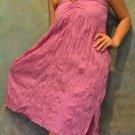 7004 Boho Light Purple Halter Buckle Summer Beach Sundress Top