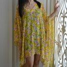 4032 Caftan Kaftan Kimono Tunic Cover-ups Blouse Top M L XL 2XL 3XL