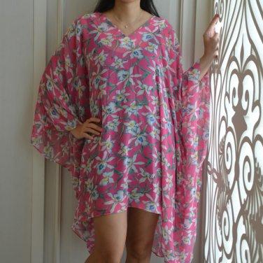4034 Caftan Kaftan Kimono Tunic Cover-ups Blouse Top M L XL 2XL 3XL
