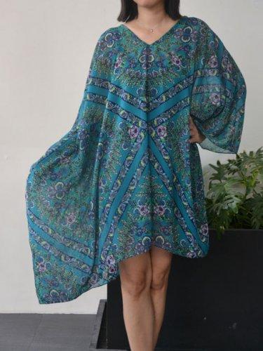 4044 Caftan Kaftan Kimono Tunic Cover-ups Blouse Top M L XL 2XL 3XL