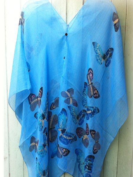 2021 Scarf Kaftan Caftan Kimono Sleeves Tunic Beach Cover-ups swim suit Top