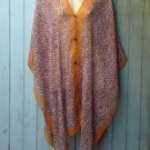 08 Scarf Kaftan Caftan Kimono Sleeves Tunic Beach Cover-ups swim suit Top
