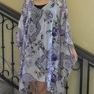 4050 Caftan Kaftan Kimono Tunic Cover-ups Blouse Top M L XL 2XL 3XL