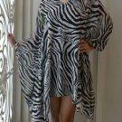 4051 Caftan Kaftan Kimono Tunic Cover-ups Blouse Top M L XL 2XL 3XL