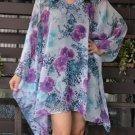 4066 Caftan Kaftan Kimono Tunic Cover-ups Blouse Top M L XL 2XL 3XL