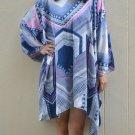 4067 Caftan Kaftan Kimono Tunic Cover-ups Blouse Top M L XL 2XL 3XL