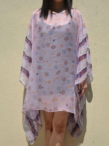 4072 Caftan Kaftan Kimono Tunic Cover-ups Blouse Top M L XL 2XL 3XL