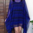 4076 Caftan Kaftan Kimono Tunic Cover-ups Blouse Top M L XL 2XL 3XL