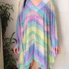 4077 Caftan Kaftan Kimono Tunic Cover-ups Blouse Top M L XL 2XL 3XL
