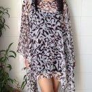 4078 Caftan Kaftan Kimono Tunic Cover-ups Blouse Top M L XL 2XL 3XL