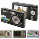 Digital Camera, 12M Pixel, 2.5-inch Screen, 16MB Int.Mem, SD/MMC