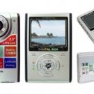 Digital Camera, 12M Pixel, 128MB Int.mem, 2.5-inch Screen