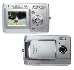 Digital Camera, 12M Pixel, 16MB Int. Mem., SD/MMC Slot