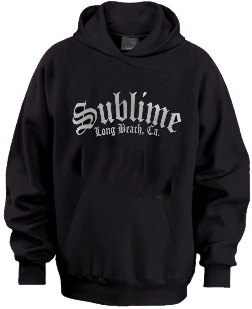 Sublime Long Beach California Mens Hoodie Sizes S-XL