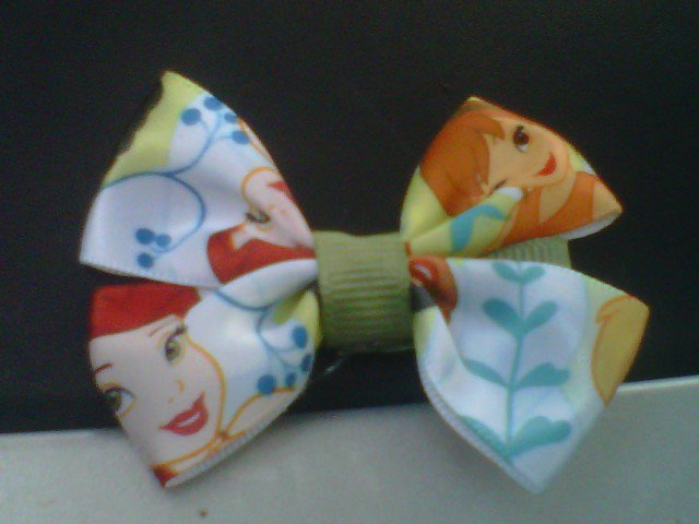 HANDMADE BOW TINKER BELL 2for $2.50