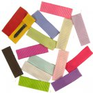 HANDMADE SOLID COLOR CLIPPIES  8 FOR $5.99