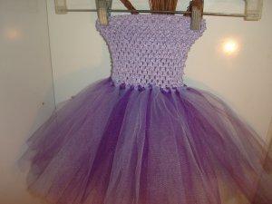 HANDMADE PURPLE/PLUM/LAVENDER TUTU DRESS