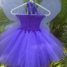 HANDMADE PURPLE TUTU DRESS W/WINGS