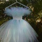 HANDMADE   Lil Diva Inspired  Cinderalla Soft & White Tutu Dress  3 FOR $53.15