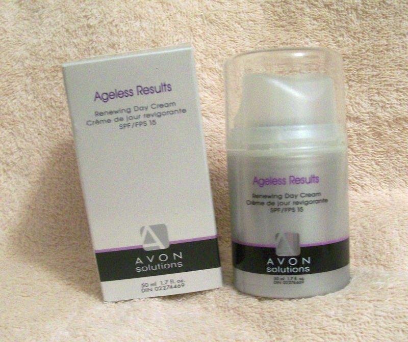 Avon Solutions Ageless Results RENEWING DAY CREAM SPF15 NIB    Free shipping