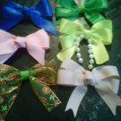 6  FOR $5.99 HANDMADE  BOW CLIPS