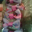 handmade dora hair bows 2 for 2.50