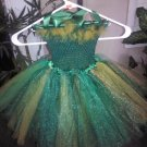 CUSTOM MADE USF COLORS TUTU DRESS