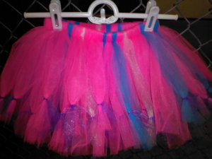 HANDMADE TUTU SKIRT  25 INCH WAIST LINE 4 for $40.25