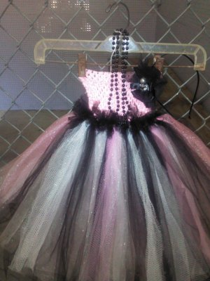 *ARTISAN HANDMADE WILD TUTU DRESS