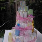 HANDMADE 3 TIER DIAPER CAKE