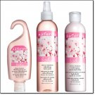 AVON NATURAL CHERRY BLOSSOM SHOWER GEL, BODY LOTION, BODY SPRAY