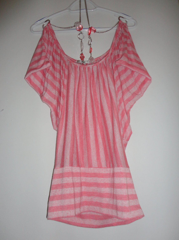 Pink Top Shirt-Small