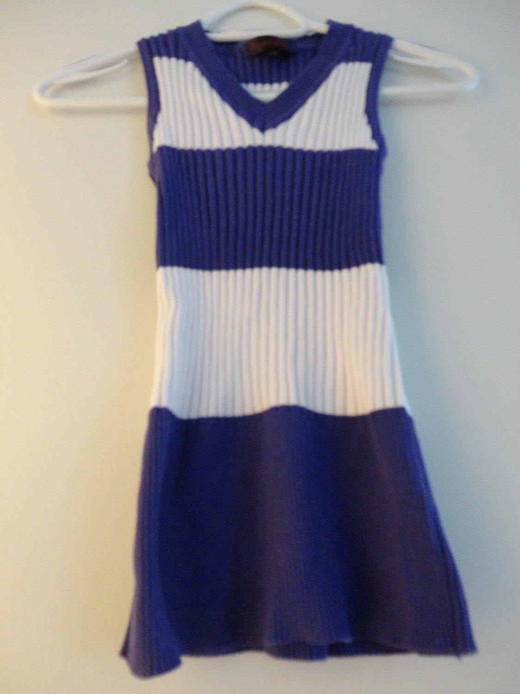 Playboy-Purple White Stretch Shirt Small Size
